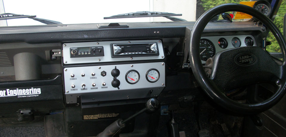 Landrover Defender Dash Console By Raptor Engineering