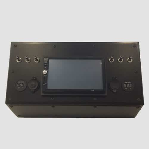 Defender & S111 Double Din Console Dash